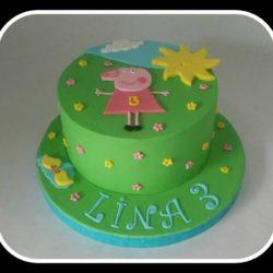 Lina ist 3...