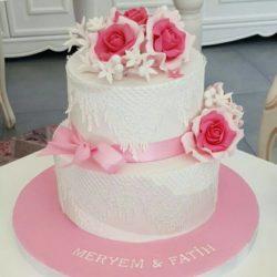 Verlobungstorte für Meryem und Fatih :)