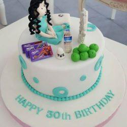 30.Geburtstagstorte...