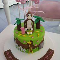 Amina's Geburtstagstorte :)