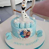 Olaf/Elsa Torte